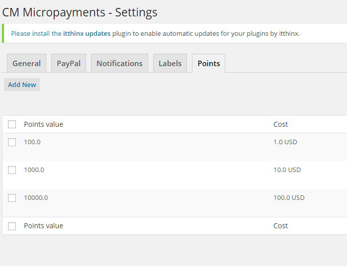 Do I have to use a virtual currency or can I also use regular payments? CM Micropayment platform for WordPress