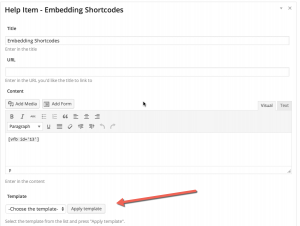 OnBoarding Using pre-defined templates