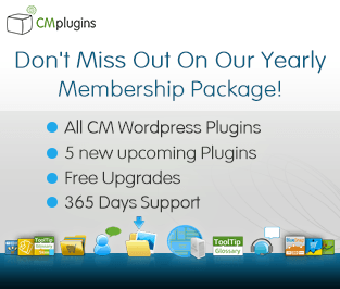 CM WP Plugins Membership package